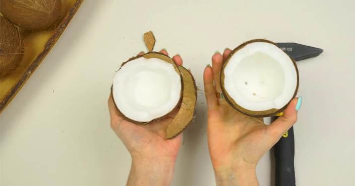 Ako otvoriť kokos - užitočný návod ako otvoriť a olúpať kokosový orech