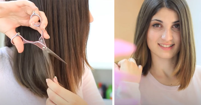 Dlhý bob - návod, ako sa sama ostrihať a vytvoriť si účes long bob